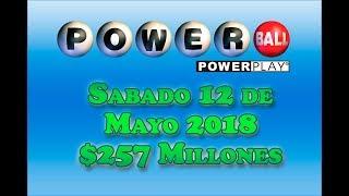 Gambar cover Resultados Powerball 12 de Mayo del 2018 $257 Millones Powerball en Español