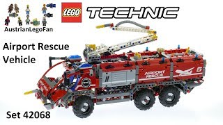 Lego Technic 42068 Airport Rescue Vehicle - Lego Speed Build Review