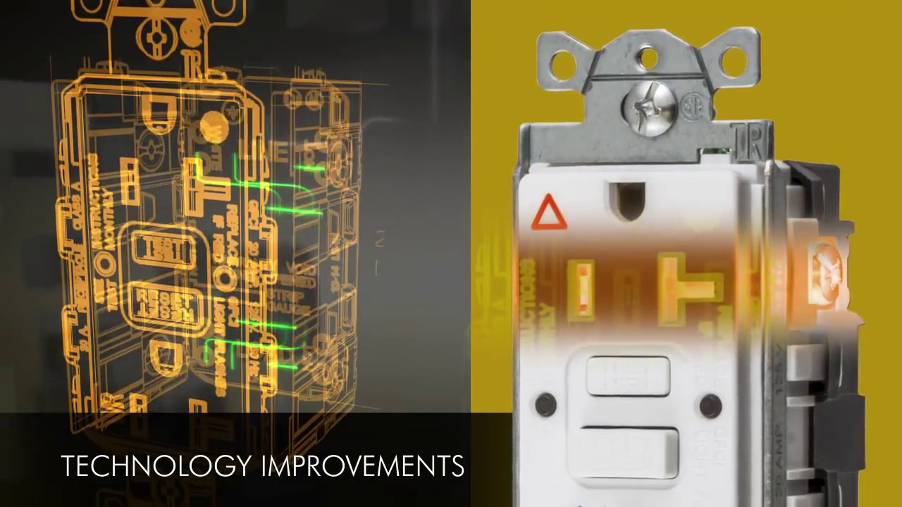 wiring device kellems autoguard gfci receptacles [ 1280 x 720 Pixel ]