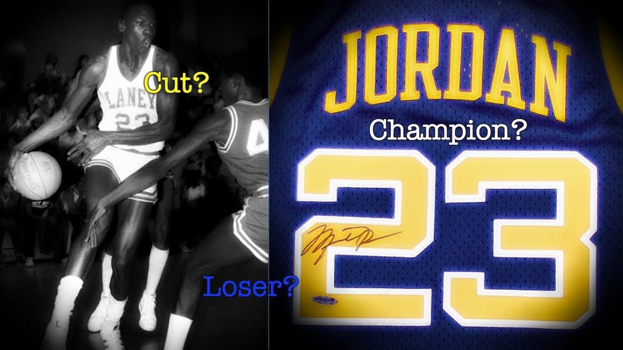 buy online e4e2c 26f99 The UNTOLD Story Of Michael Jordan's High School Basketball Career
