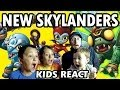 Kids React to Skylanders 4 - New Characters Announcement Update (Frito Lay Naming Contest)
