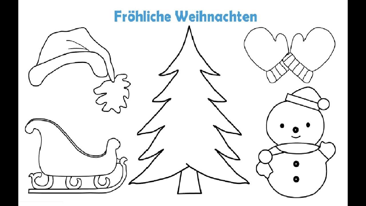 malvorlagen weihnachtsbaum youtube