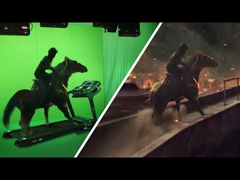 Amazing Before & After Hollywood VFX - Robin Hood