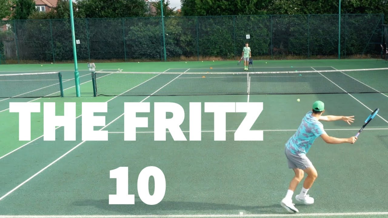 Training like a Pro - The Taylor Fritz 10 Drill