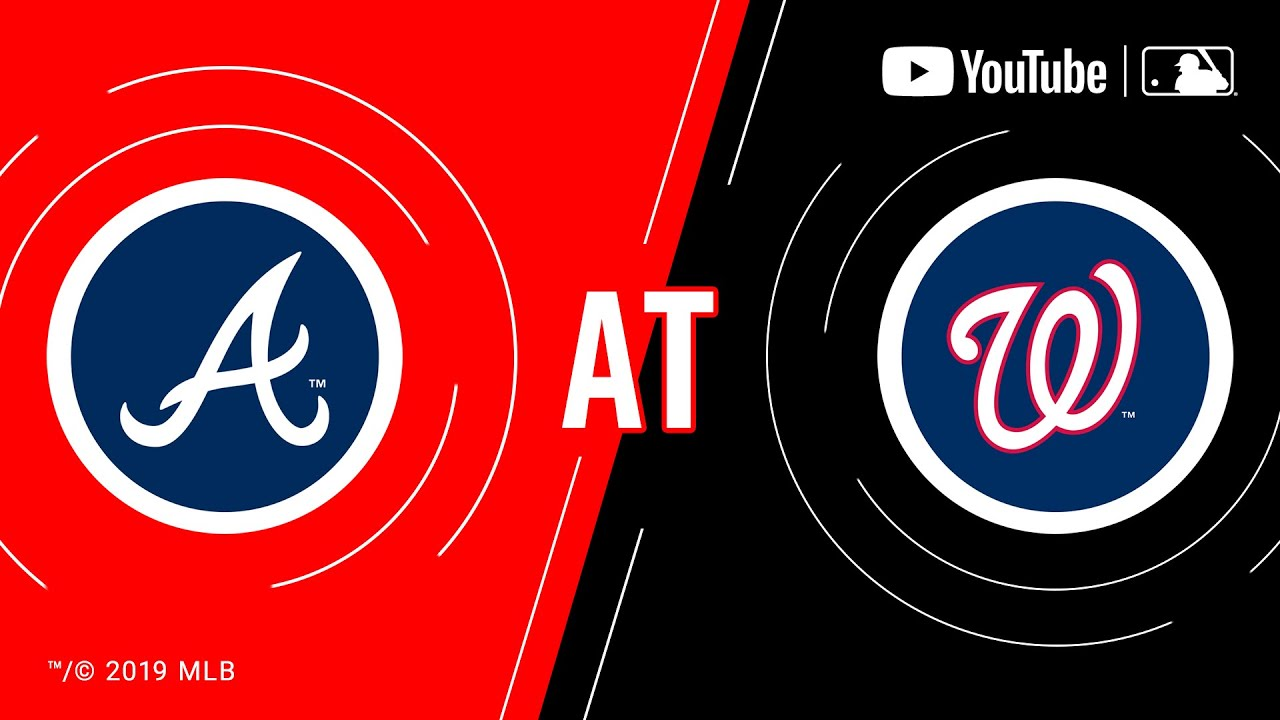Braves At Nationals 9 13 19 Mlb Game Of The Week Live On Youtube Youtube