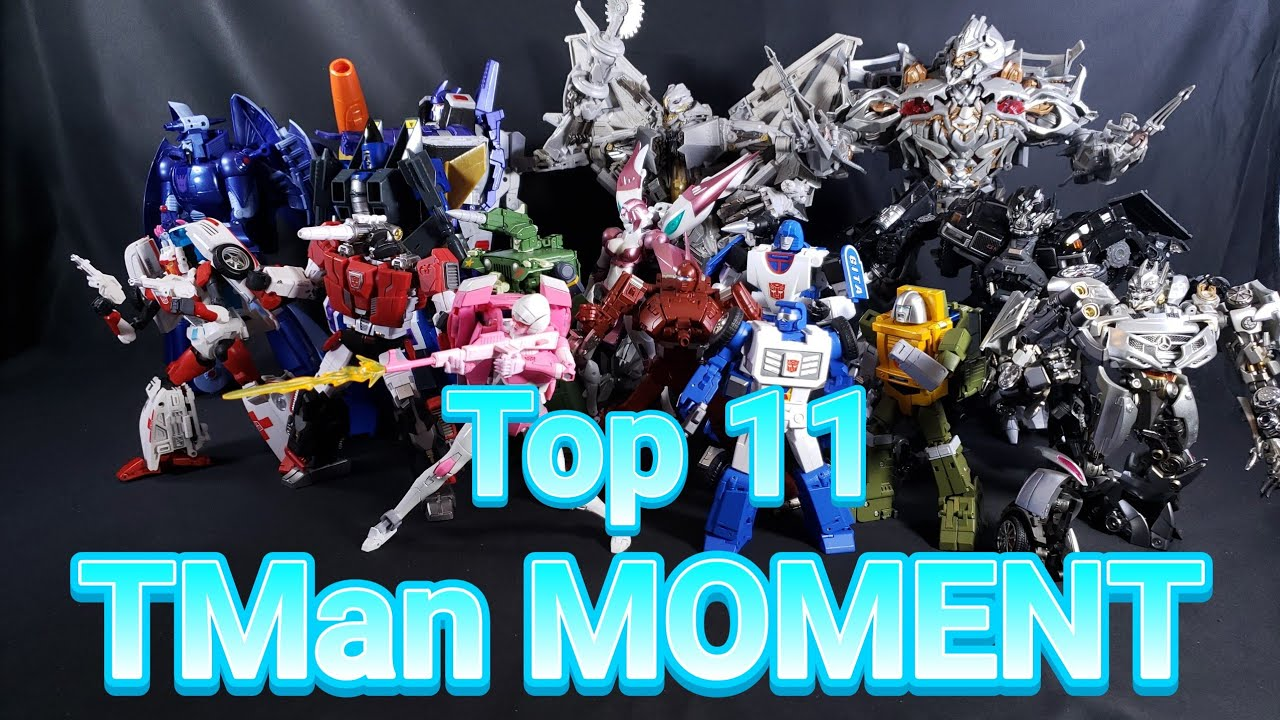 TMan978 Top 11 Transformers Masterpiece & 3rd Party Equivalent Action Figures 2020
