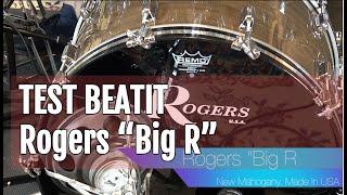 """BeatIt Vintage Test: 70s Rogers """"Big R"""" Drum Kit"""