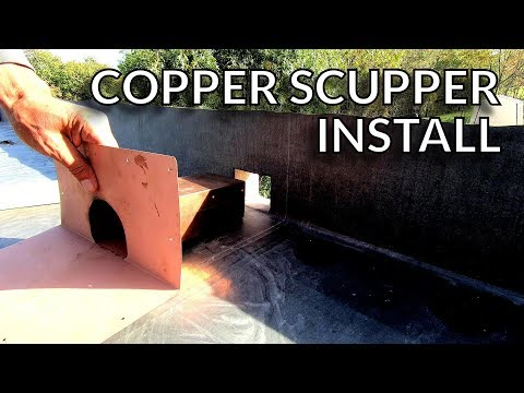 Installing Thru Wall Scuppers