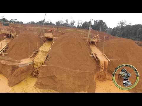 Devastación minera en el Esequibo venezolano