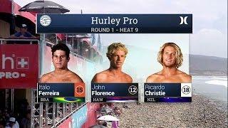 2015 Hurley Pro at Trestles: R1, H9 Recap