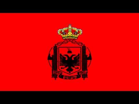 Bandera de Estado de Albania (1939-43) - Flag of State of Albania (1939-43)