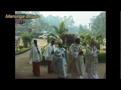 Entrance Procession - Episcopal Silver Jubilee Archbishop Cornelius Fontem Esua Bamenda, Cameroon