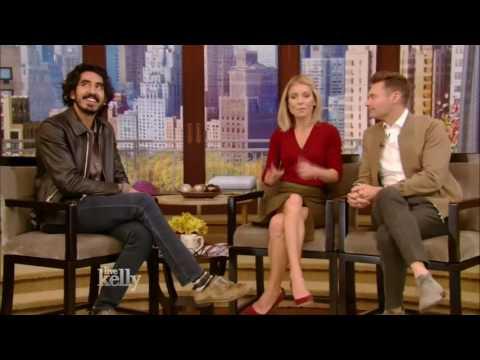 Dev Patel Lion  Live With Kelly 11182016 co host Ryan Seacrest