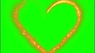 heart green screen video,Dil green screen video