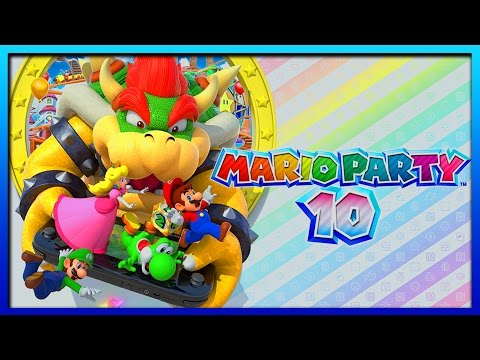 Mario Party 10 Wii U Part 1 Livestream Gameplay Walkthrough Mini Games W/ Voltsy
