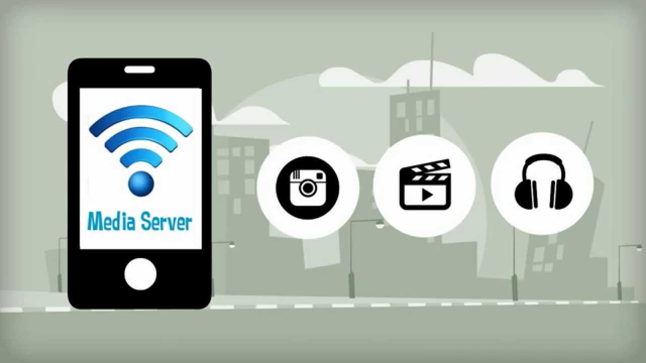 Android Media server DLNA - YouTube