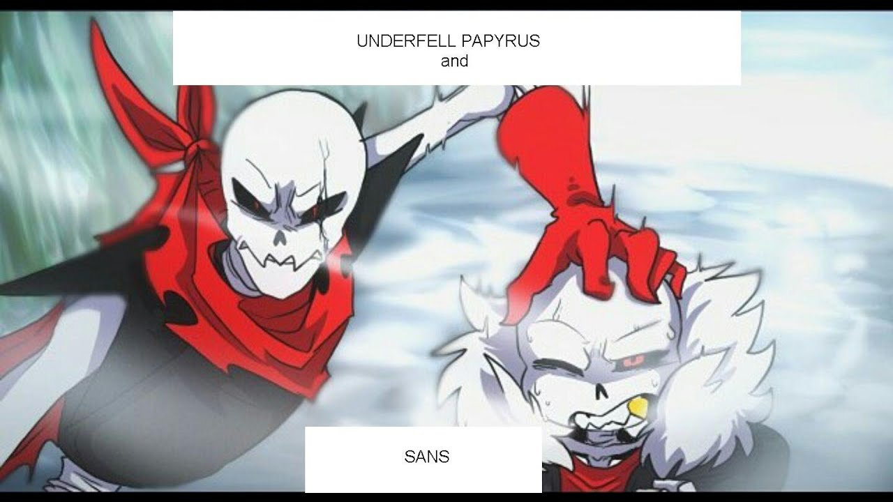 Cute Blueberry Wallpaper Underfell Sans And Papyrus Song Rap By Jt Machinima