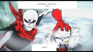 "UnderFell Sans and Papyrus Song -  *Rap by JT Machinima* ""To The Bone"