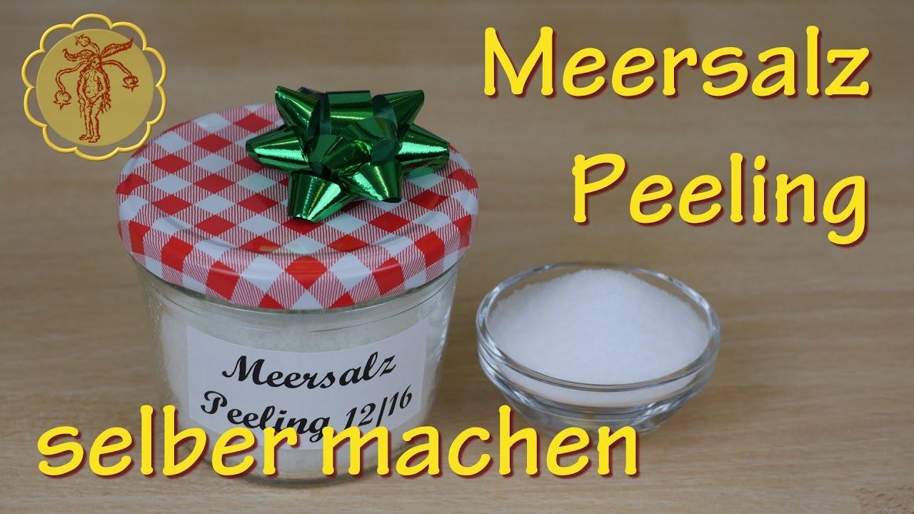 Last Minute Geschenkidee Meersalz Peeling Selber Machen Wellness