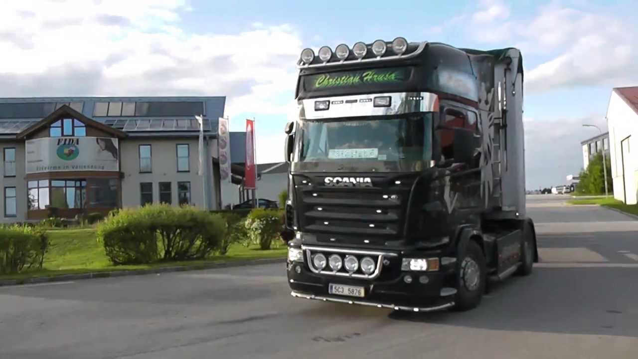 Populaire Scania R580 - Michele - YouTube KJ71