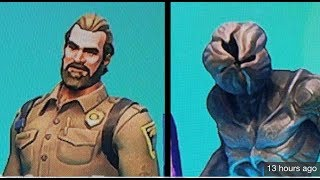 NEW FORTNITE CHIEF HOPPER & DEMOGORGON SKIN! NEW STRANGER THINGS FORTNITE SKINS!