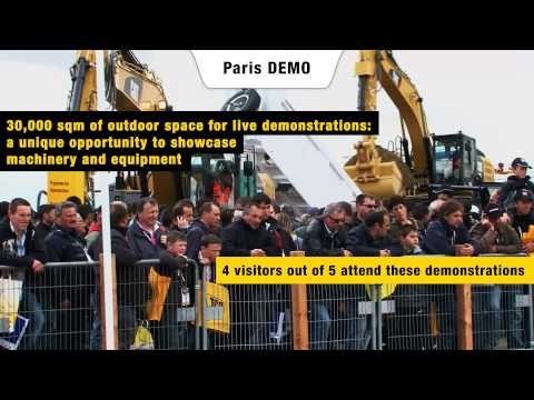 World of Concrete Europe comes to Paris as part of Intermat 2015