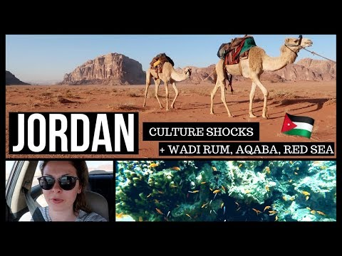 JORDAN CULTURE SHOCKS | 8 Days in Jordan pt. 2 | Wadi Rum, Aqaba, Red Sea