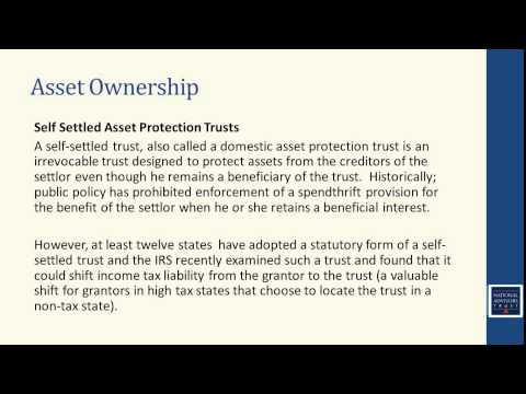 Trust Education: Wealth Preservation (January 2014)