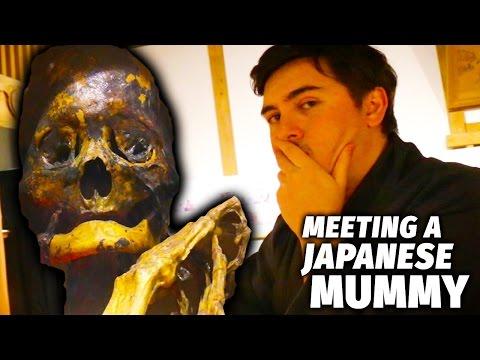 Meeting a Japanese Mummy   Fukushima