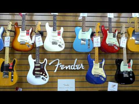 NEW Fender Guitar Showroom WALKAROUND at Sherwood Phoenix Music