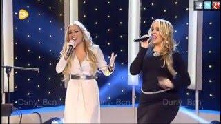 La Húngara y Laury La Marimorena (Gala nochebuena 13 Tv) 2015