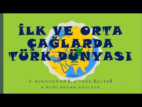 10) 2019 TARİH/İLK VE ORTA ÇAĞLARDA TÜRK DÜNYASI-1