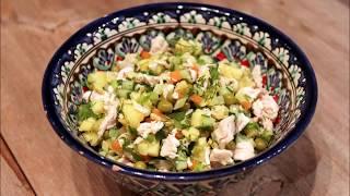 Салат столичный с курицей