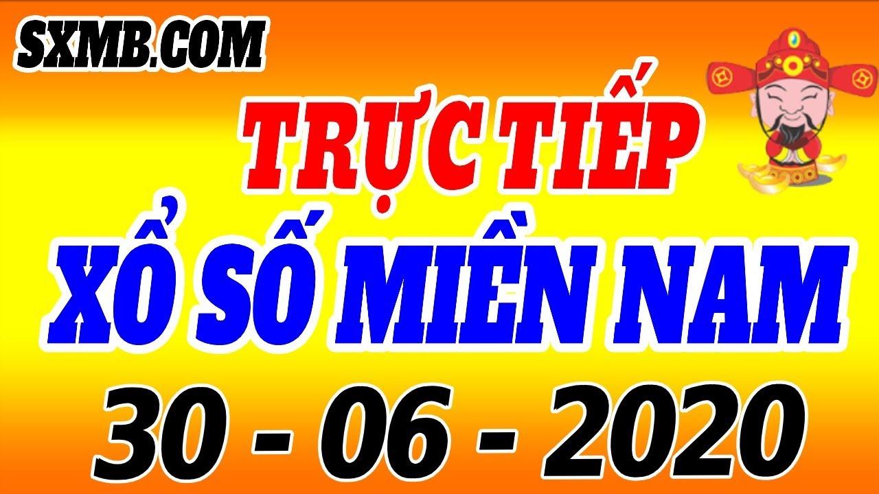 XSMN TRỰC TIẾP XỔ SỐ MIỀN NAM HÔM NAY THỨ 3 NGÀY 30/06/2020, KQXS MIEN NAM