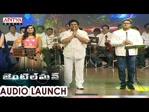 Mani Sharma Musical Live Stage Performance At Gentleman Audio Launch