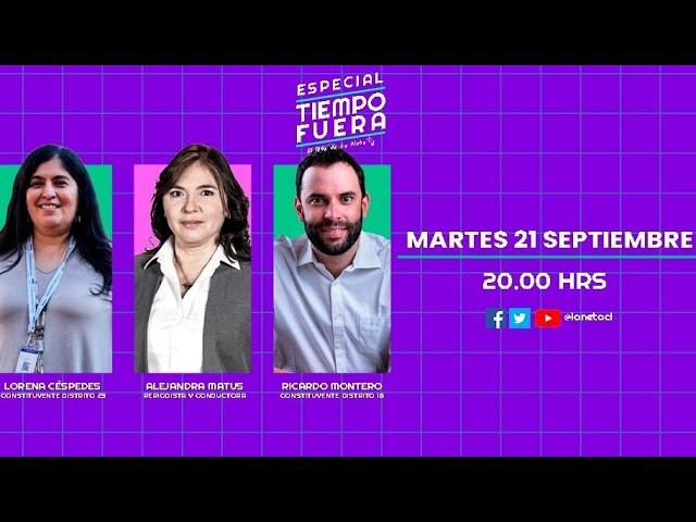 Late de La Neta Tiempo Fuera: Lorena Céspedes y Ricardo Montero