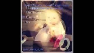 Happy 1st birthday Baby Lux!