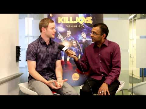 Killjoys - Exclusive Interview With Aaron Ashmore