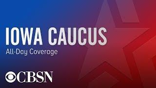 Gambar cover Iowa Caucus Live Updates | CBSN