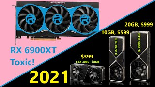 Nvidia's NEW Ampere Cards in 2021 | AMD RX 6900XT & 6800XT Musings