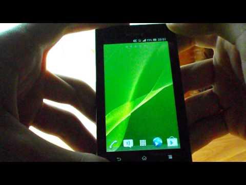 Видео обзор прошивки UltraLight 3.9 (Android 4.1.2) для Sony Xperia Sola!