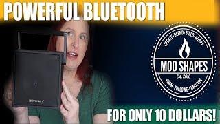 Unbox & Review Five Below Emerson Wireless Bluetooth Speaker EBT3004BK