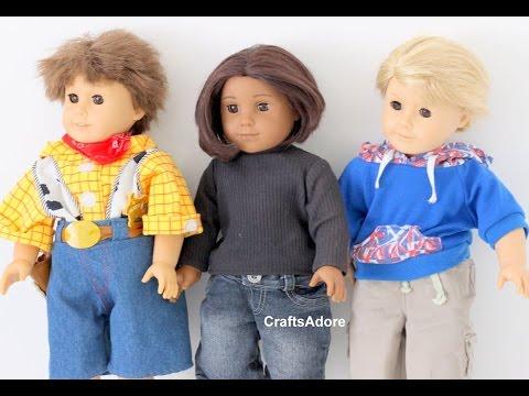 American Girl Boy Doll Tutorial - Making American Boy Dolls ~HD~