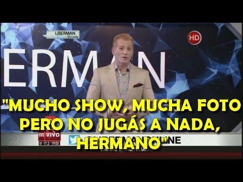 """Liberman caliente con Sampaoli lo liquida tras Venezuela: """"Dejá de chupar medias y jugá, hermano"""""""