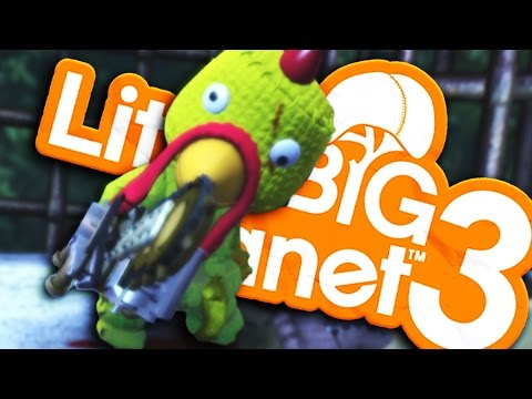 LittleBigPlanet 3 - CRAZY CHICKEN KILLER!  - Horror Parody  (Little Big Planet 3)
