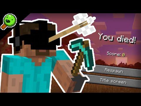 Minecraft in VR