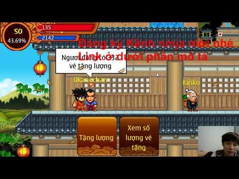 tai game ninja school hack xu luong mien phi - Ninja Nhím   Vé Tặng Lượng Miễn Phí   Kênh Ninja Mới