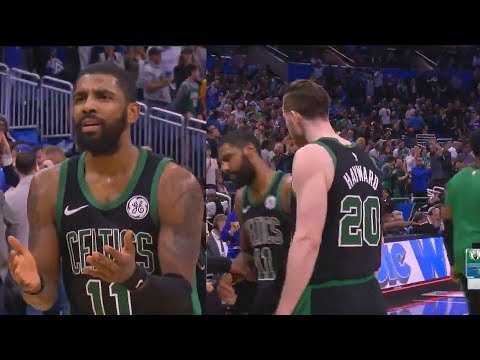 Kyrie Irving Gets Furious At Gordon Hayward After Costing Celtics The Game! Celtics vs Magic
