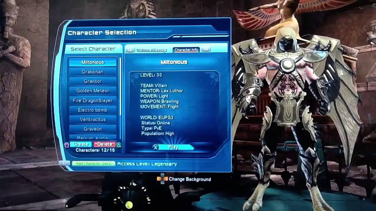 Dc Universe Online Best Character Build