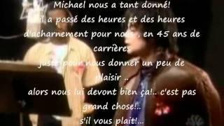 Pour Michael Jackson... réagissez!!